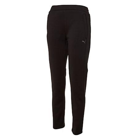 니트 기모 트레이닝 팬츠/Knit Suit_Pants W, puma black, small-KOR