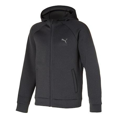 쿠션 트레이닝 자켓, dark grey heather, small-KOR