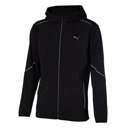 테크 윈드 트레이닝 자켓 바람막이/RT Tech Wind Jacket, puma black, small-KOR