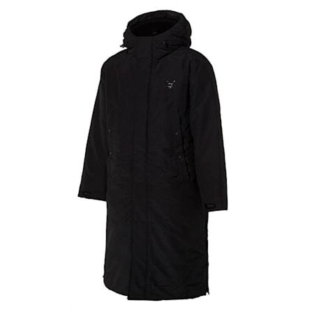 넌 퀼티드 롱 다운 자켓/Non-quilted Long Down Jacket, puma black, small-KOR