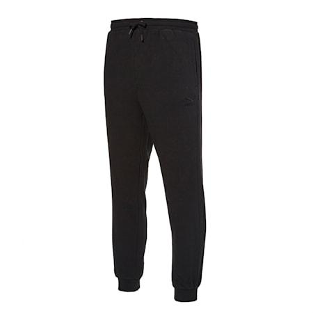 클래식 기모 죠거 팬츠/Classics Emb Sweat Pants FL, puma black, small-KOR