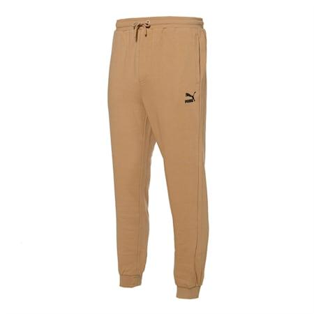클래식 기모 죠거 팬츠/Classics Emb Sweat Pants FL, pale khaki, small-KOR