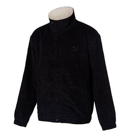 코듀로이 패딩 자켓/Corduroy Sherpa Padded JK, puma black, small-KOR