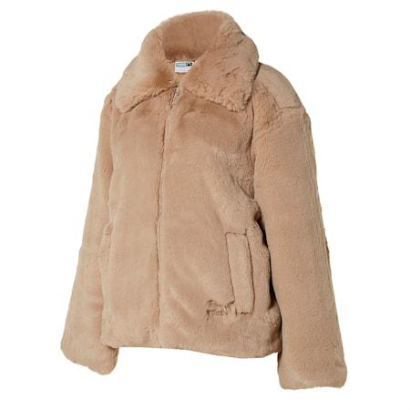 데바 에코 퍼 자켓, pale khaki, small-KOR