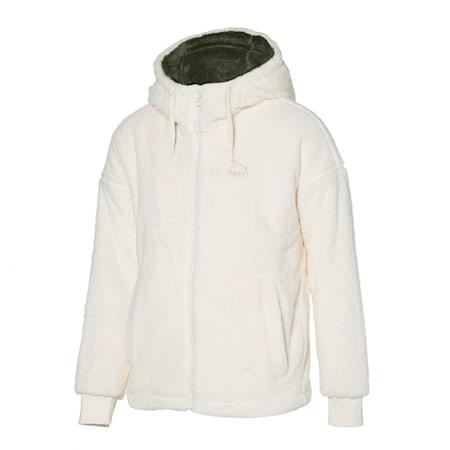 쉐르파 본딩 후드 티 자켓/Sherpa FZ Padded Hoody, whisper white, small-KOR