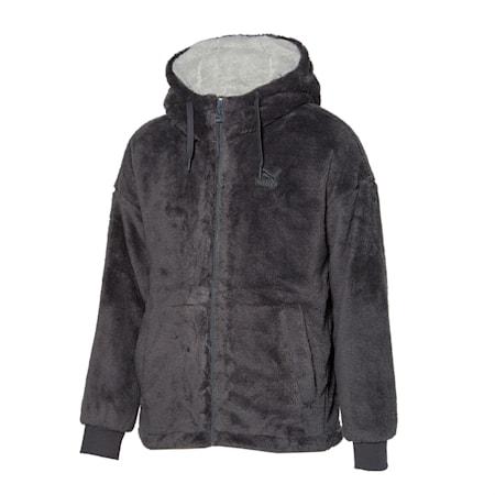쉐르파 본딩 후디 자켓, ultra grey, small-KOR