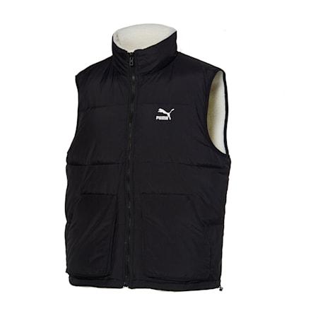 쉐르파 리버시블 베스트/Sherpa Reversible Vest, whisper white-puma black, small-KOR