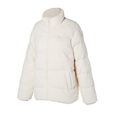 쉐르파 퀼팅 자켓/Sherpa Quilted Jacket, whisper white, small-KOR