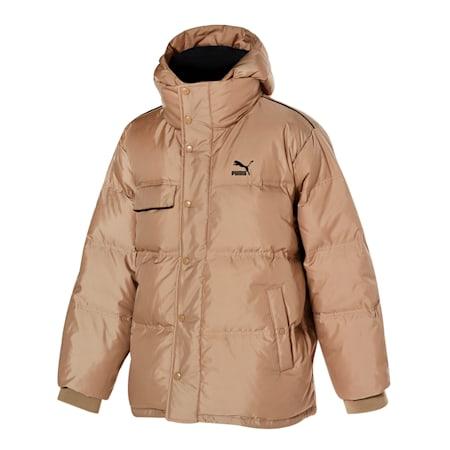 푸퍼 다운 자켓/Puffer Down Jacket, pale khaki, small-KOR