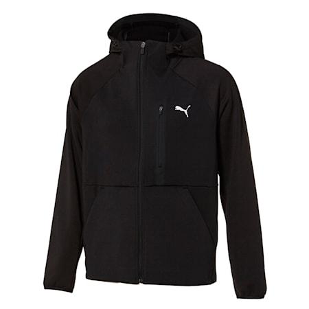 본딩 트레이닝 자켓, puma black, small-KOR