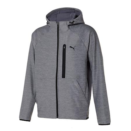 본딩 트레이닝 자켓, heather grey, small-KOR