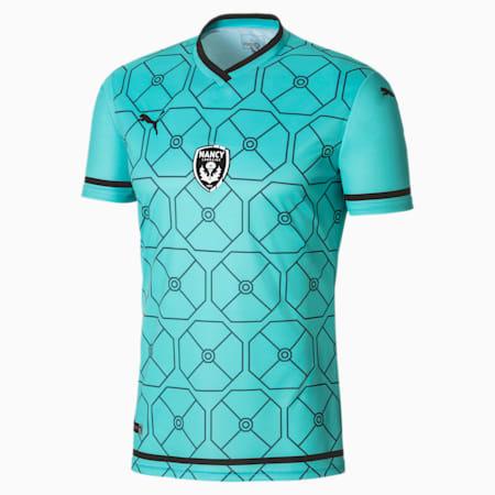 Camiseta réplica 2.ª equipación AS Nancy-Lorraine para hombre, Pepper Green-Puma Black, small