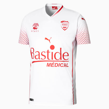 Nîmes Olympique Replica uitshirt voor heren, Puma White, small