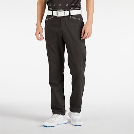 ゴルフ ギンガム 5ポケット パンツ, Puma Black, small-JPN