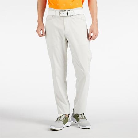 ゴルフ ギンガム 5ポケット パンツ, Bright White, small-JPN