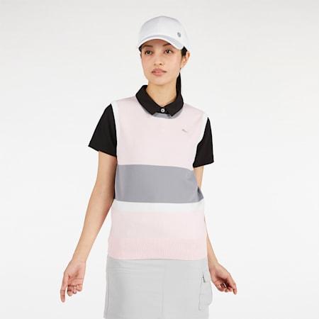 ゴルフ ウィメンズ セーター ベスト, Rosewater, small-JPN