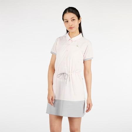 ゴルフ ウィメンズ カラーブロック ドレス ワンピース, Rosewater, small-JPN