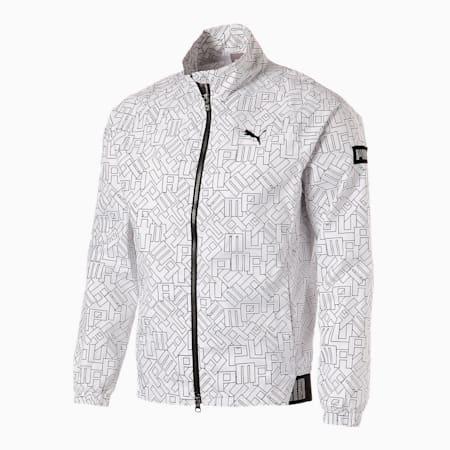 ゴルフ ロゴ グラフィック EXVENT ジャケット, Bright White, small-JPN