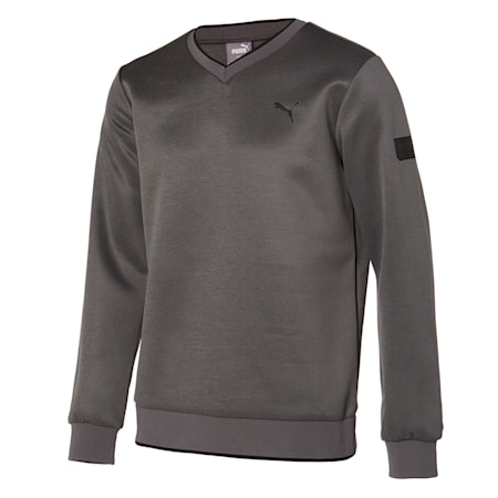 v넥 크루/V-neck Trainer, Ultra Gray Heather, small-KOR