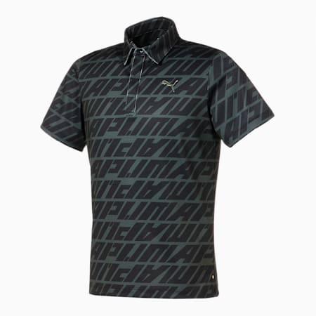 ゴルフ DAY LIGHT スプリング 半袖 ポロシャツ, PUMA BLACK, small-JPN