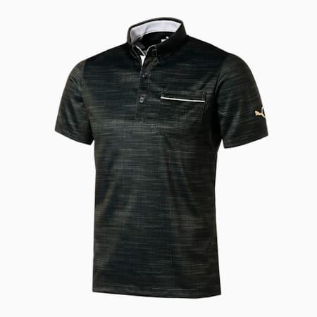 ゴルフ ノイズ スイングカット 半袖 ポロシャツ, PUMA BLACK, small-JPN