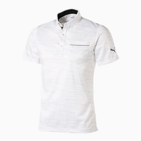 ゴルフ ノイズ スイングカット 半袖 ポロシャツ, BRIGHT WHITE, small-JPN