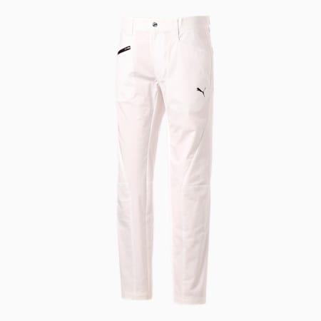 ゴルフ 5ポケット 3D スリムテーパード パンツ, BRIGHT WHITE, small-JPN