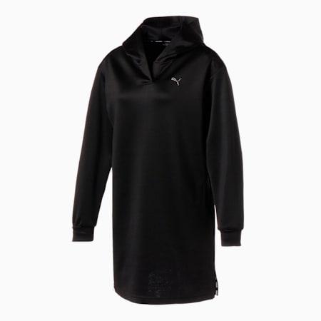 ゴルフ ウィメンズ フーディー ドレス, Puma Black, small-JPN
