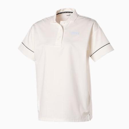 ゴルフ EGW ウィメンズ カノコ 半袖 ポロシャツ, BRIGHT WHITE, small-JPN