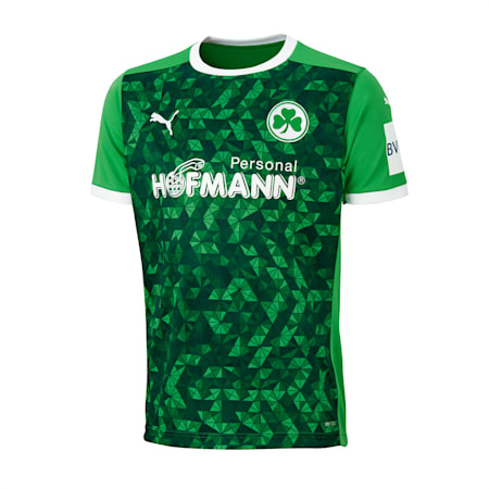 SpVgg Greuther Fürth Away Youth Jersey, Bright Green-Puma White, small