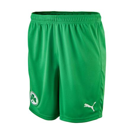 Shorts Away SpVgg Greuther Fürth da ragazzo, Bright Green-Puma White, small