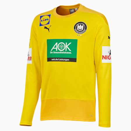 DHB keepersthuisshirt voor heren, Cyber Yellow-Spectra Yellow, small