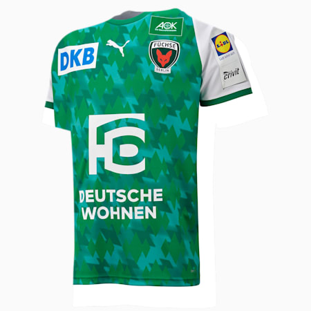 Füchse Berlin Home Men's Jersey, Pep. Green-Bri. Green-White, small