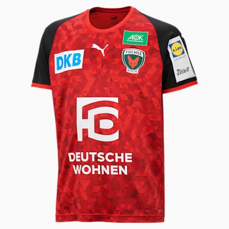 Füchse Berlin Away Men's Jersey, Puma Red-Puma Black, small
