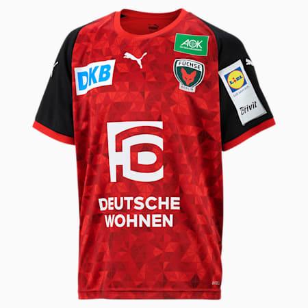 Füchse Berlin uitshirt voor jongeren, Puma Red-Puma Black, small