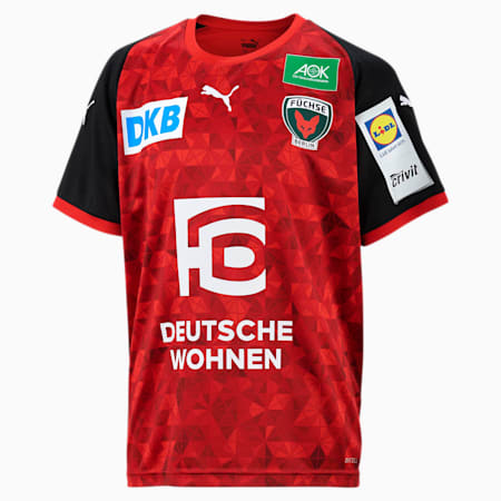 Młodzieżowa wyjazdowa koszulka Füchse Berlin, Puma Red-Puma Black, small