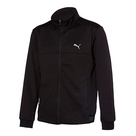 그리드 플러스 니트 트레이닝 자켓/Grid Plus Knit Training JKT, puma black, small-KOR