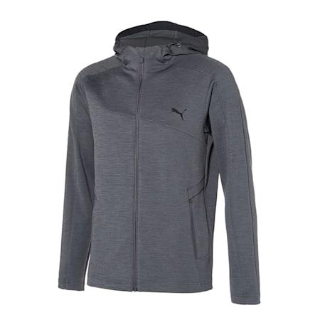 뉴 코어 니트 트레이닝 자켓, medium heather gray, small-KOR