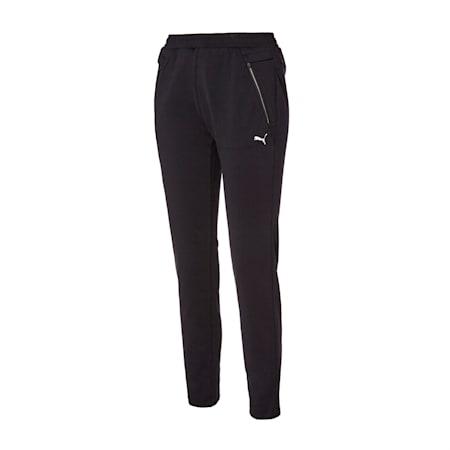 뉴 코어 니트 트레이닝 팬츠/New Core Knit Training PT W, puma black, small-KOR