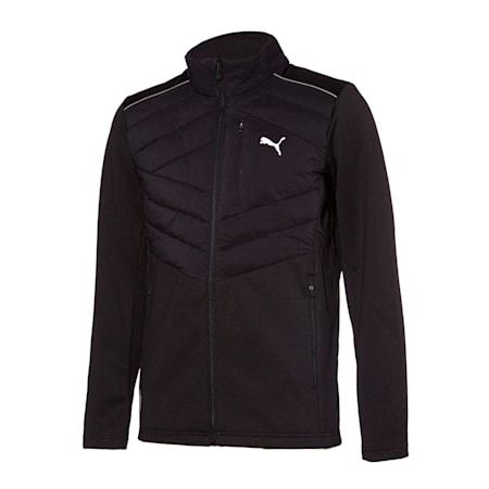 윈드 어택 패딩 자켓, puma black, small-KOR