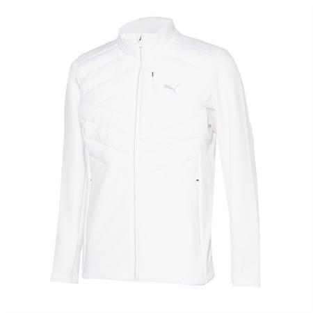 윈드 어택 패딩 자켓, puma white, small-KOR