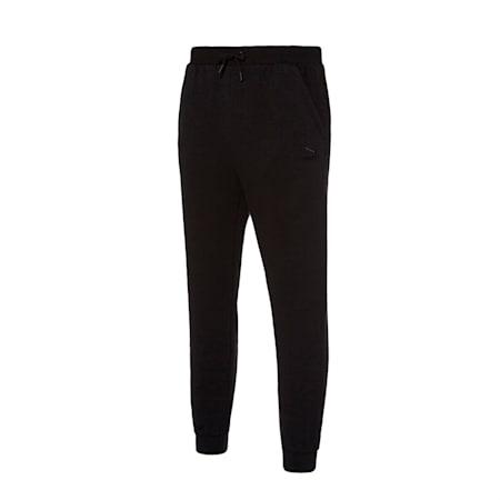 클래식 엠보 조거 팬츠/Classics Emb Jogger Pants, puma black, small-KOR