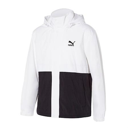 클래식 우븐 자켓/Classics Woven Jacket, puma white multi, small-KOR