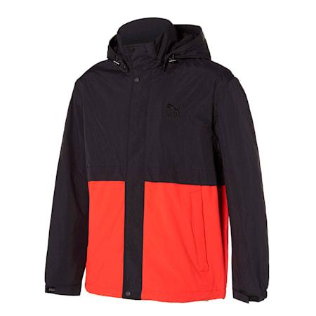 클래식 우븐 자켓/Classics Woven Jacket, poppy red multi, small-KOR