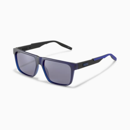 Rubber Eyes Sunglasses, BLUE-BLACK-BLUE, small
