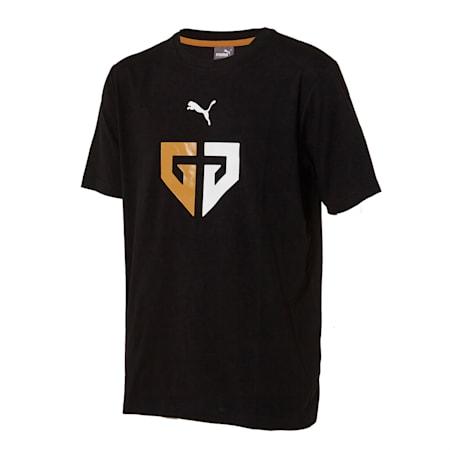 젠지 푸마 콜라보레이션 반팔 티셔츠/GEN.G SS Tee, puma black, small-KOR