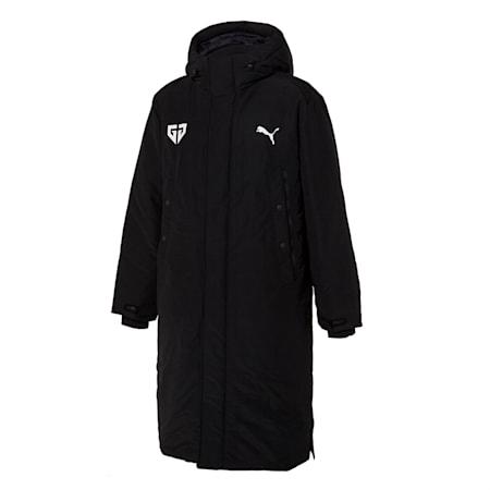 젠지 푸마 콜라보레이션 다운 자켓/GEN.G Long Down Jacket, puma black, small-KOR