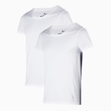 Stretch Crew  Men's  Vest Pack of 2, white/white, small-IND