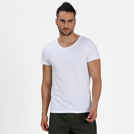 Basic Crew  Men's  Vest Pack of 2, white/white, small-IND