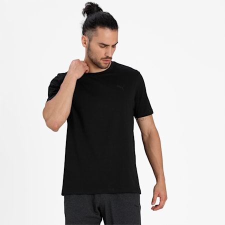 Basic Crew  Men's  T-shirt Pack of 2, Black/White, small-IND